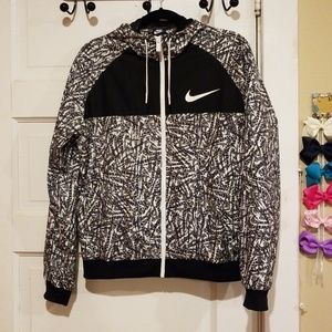 Nike hooded jacket.